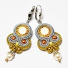 Sutaszowe earrings ORO